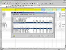 cpr concrete construction cost estimating software for excel sample screen 2
