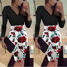 Laamei 2019 <b>Women Dress</b> Boho Print <b>Sexy</b> Vintage Female <b>Floral</b> ...