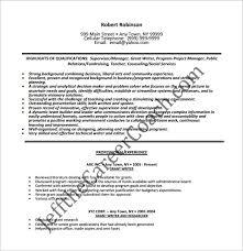 writer resume template –    free word  excel  pdf format download    grant writer resume free pdf download