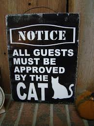 notice all guests must be approved by the cat 3 cat lovers cat lovers 27 diy