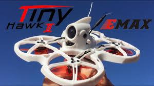 Test Flight 1s & 2s!! <b>EMAX Tinyhawk II 75mm</b> 1-2S Whoop FPV ...