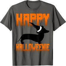 Amazon.com: <b>Funny Halloween Dachshund Shirt Dog</b> Scary Wiener ...