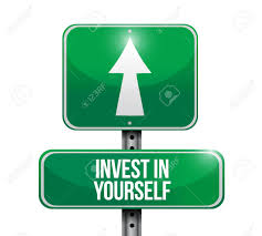 invest in yourself road sign message illustration design graphic vector invest in yourself road sign message illustration design graphic