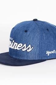 <b>Бейсболка</b> DJINNS Color Denim 6 Panel <b>Snapback</b> (Navy, O/S ...