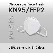 <b>KN95 FFP2 N95</b> Disposal Face Mask. 4 Layers. 95% Filtering PM2.5 ...