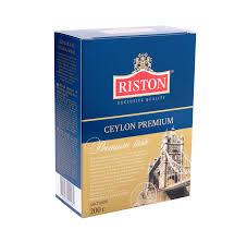 Купить <b>чай RISTON</b> ceylon premium <b>черный</b> листовой, 200г в ...