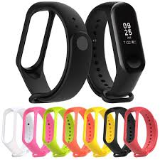 <b>Smart</b> Sports Bracelet <b>Replacement Silicone</b> Wristband Strap for ...