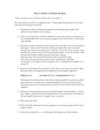 how to write a critical essay example our work write report essay example