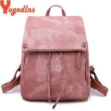 Yogodlns <b>New Travel Backpack Korean</b> Women Female Rucksack ...