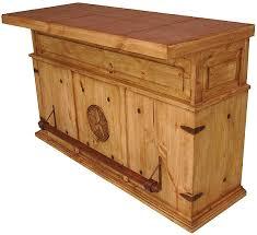 image of rustic mexican pine furniture bar bar trunk furniture
