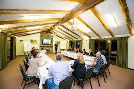 conferences evedon park bush retreat is ideal for corporate seminars and meetings the surroundings are removed from the normal work environment allowing your team