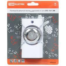 <b>Звонок дверной проводной TDM</b> Electric SQ1901-0016 ...
