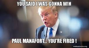 「paul manafort fired」の画像検索結果