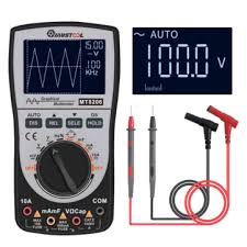 mustool mt8206 <b>2 in 1</b> intelligent <b>digital</b> oscilloscope multimeter ac ...