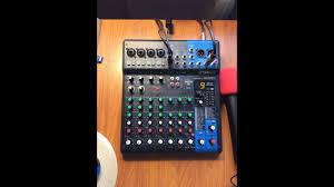 Обзор микшера <b>Yamaha MG10XU</b>. Mixer <b>Yamaha MG10XU</b> ...
