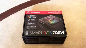 <b>Блок питания Thermaltake</b> Smart RGB 700W - распаковка и обзор ...