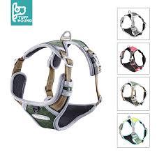 <b>TUFF HOUND Dog</b> Harness Adjustable No-Pull <b>Reflective Nylon</b> ...