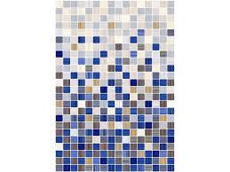 <b>Плитка</b> настенная <b>КЕРАМИН Гламур</b> голубой микс 27.5 х 40 см ...