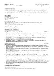 entry level accounting resume objective make resume entry level accounting resume best business template