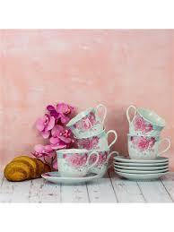 <b>Чайный набор</b> из фарфора, 6 персон <b>220</b> мл <b>LORAINE</b> 6116371 ...
