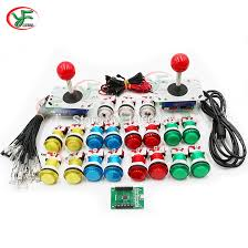 DIY <b>Arcade parts Bundles kit</b> for 2 players Jamma USB control board ...