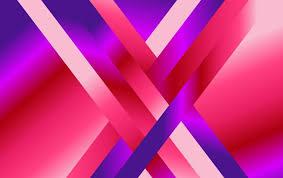 Abstract <b>Modern Pink</b> Blue and <b>Purple</b> Fluid Gradient Geometric ...