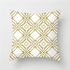 <b>Fuwatacchi</b> Yellow <b>Geometric Cushion</b> Covers Diamond Square ...