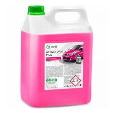 <b>Автошампунь GRASS Active</b> Foam Pink для б/к мойки розовая ...