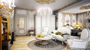 vintage victorian home decor for living room with white sofa under luxury chandelier and antique antique victorian living room