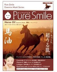 «<b>Маска с лошадиным маслом</b> Horse Oil Essence Mask Pure Smile ...