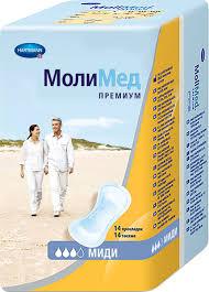 <b>MoliMed Premium Midi</b> Урологические <b>прокладки</b>, 14 шт