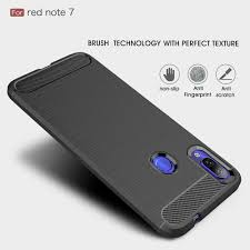 For Xiaomi Redmi Note7 Version Carbon Fiber Brushed Mobile ...