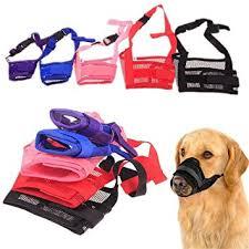 WEIYE Dog Muzzle, Adjustable Pet Dog Mouth Cover ... - Amazon.com