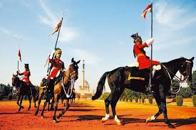 photo essay   now showing at raisina   livemintthe president    s bodyguard during the change of guard  the mounted unit was raised in