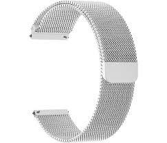 <b>Ремешок Lyambda Capella</b> 20 мм, сталь, серебристый