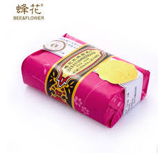 5 pcs/lot China brand <b>Bee</b> flower rose sandalwood <b>soap</b> bath gift ...