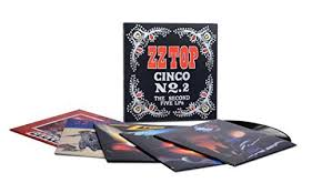 <b>ZZ TOP</b> - <b>CINCO</b> NO 2: THE SECOND FIVE LPS (VINYL) | Amazon ...