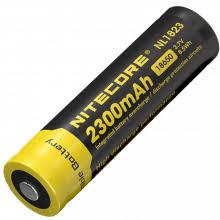 <b>Аккумулятор NITECORE</b> NL1823 18650 Li 3.7v 2300mA (арт. 11596)