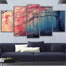 Canvas Hd Prints Picture Wall Artwork 5 Pieces League Of Legends ...