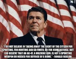 Ronald Reagan on <b>AK</b>-<b>47s</b>