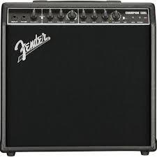 Buy Fender <b>Champion</b> 50XL 50-Watt <b>2</b>-<b>Channel</b> Guitar Amplifier ...