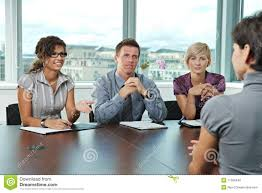 business people at job interview royalty stock image image business people at job interview