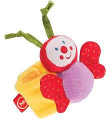 <b>Happy Baby Браслет</b>-<b>погремушка</b> Funny Butterfly — купить в ...