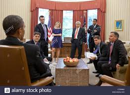 us president barack obama meets with senior advisors in the oval office of the white house barack obama oval office
