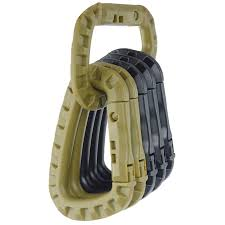 Link <b>Carabiner Climb Clasp Clip</b> Hook Backpack Molle System D ...