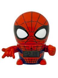<b>Будильник</b> BulbBotz <b>Marvel</b>, минифигура Spider-Man (Человек ...