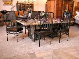Granite Dining Room Tables Granite Dining Room Table All Old Homes