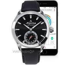 men s alpina horological smartwatch bluetooth hybrid watch al al 285bs5aq6 image 2