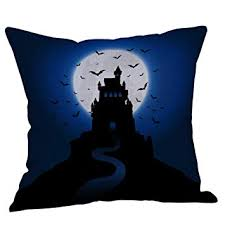Buy MEHOUSE <b>Halloween</b> Theme <b>Pillow</b> Covers Happy <b>Halloween</b> ...