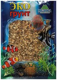 Купить грунт для аквариума <b>ЭКОгрунт Галька</b> реликтовая №1 2 ...